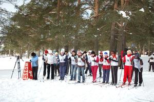 Всей семьей – на лыжи!