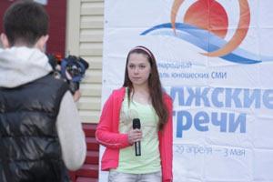 Юношеские СМИ Тверской области проявили себя на фестивале «Волжские встречи»!