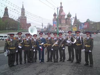 Ракетчики Озерного на главном параде