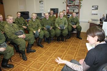 Армия в гостях у СМИ