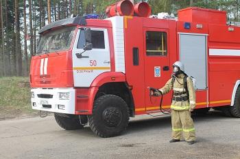 Робокоп на службе МЧС, или радуга из пожарного рукава