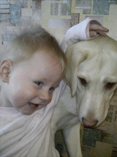Артем с Лейлой