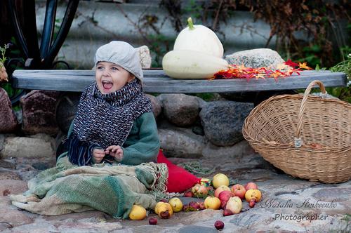 №3 Ксения Аникеенко Хорошо улыбаться, когда мама фотограф.