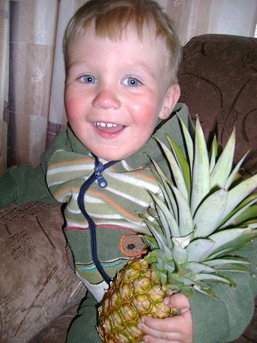 №6 Костя Тузов  Вот он, рай ананасовый!
