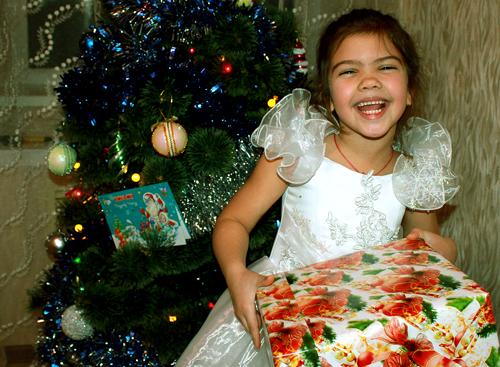 №43 Катя Богданова Люблю подарки из-под елки.