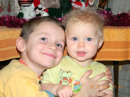 №45 Андрюша и Танюша Трофимовы А это моя сестричка