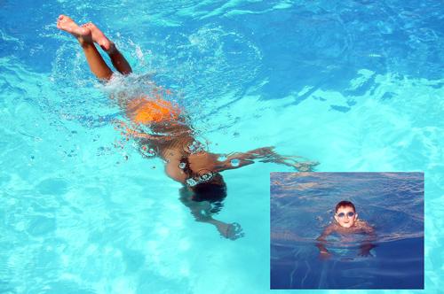 Морскую воду любят все: и девочки, и мальчики.