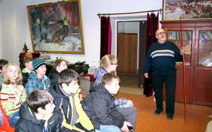 Экскурсия в музей железнодорожного училища.