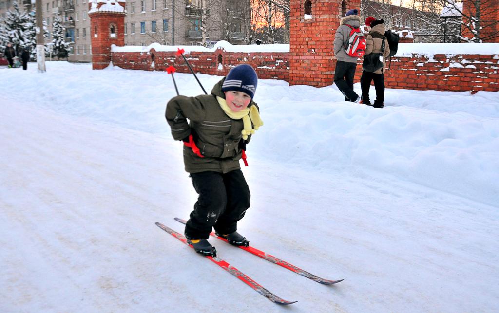 """№6 Камила Ушакова. """"Игорь Ушаков: """"Смело на лыжах вперед я лечу! Сильным и ловким быть очень хочу!"""""""