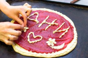 """Эксклюзивный пирог для """"Дней"""" собственного приготовления."""
