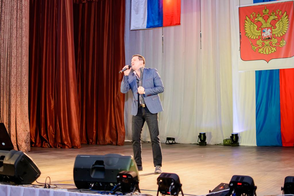 Праздничный концерт во Дворце культуры открыл череду мероприятий, посвященных Дню защитника Отечества.