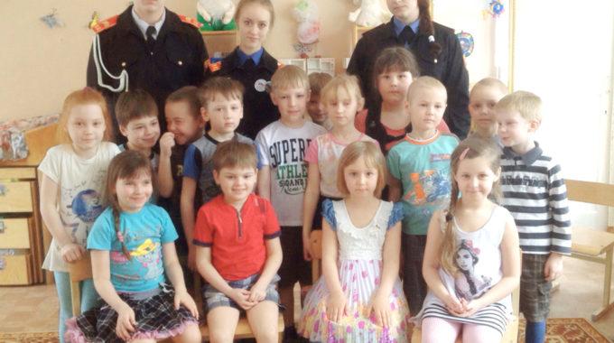 Кадеты в детском саду