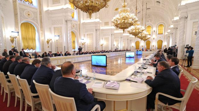 Игорь Руденя принял участие в заседании Госсовета РФ по развитию строительного комплекса и градостроению