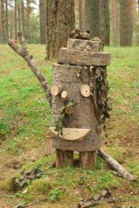 Сказочный лесовичок.