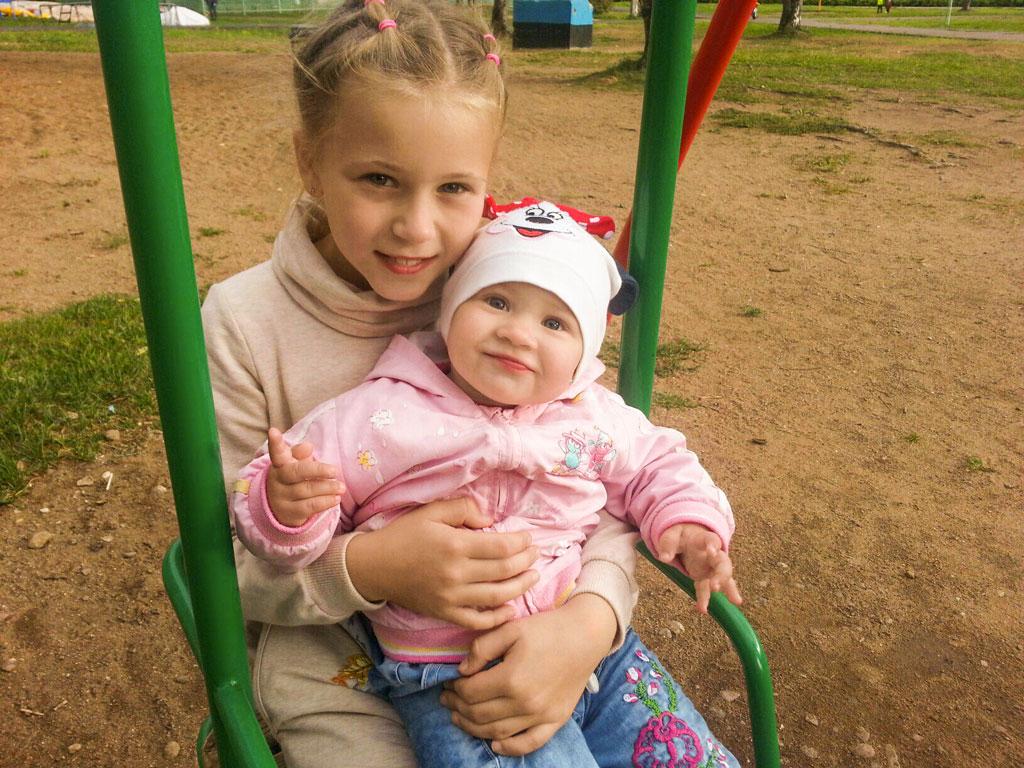"""№3 Алена Косулина. """"Кристина и Аделина."""""""