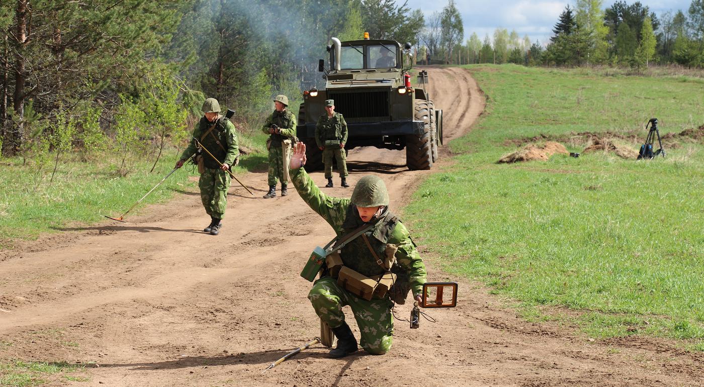 Полевые учения Батальона боевого обеспечения 7 ракетной дивизии.