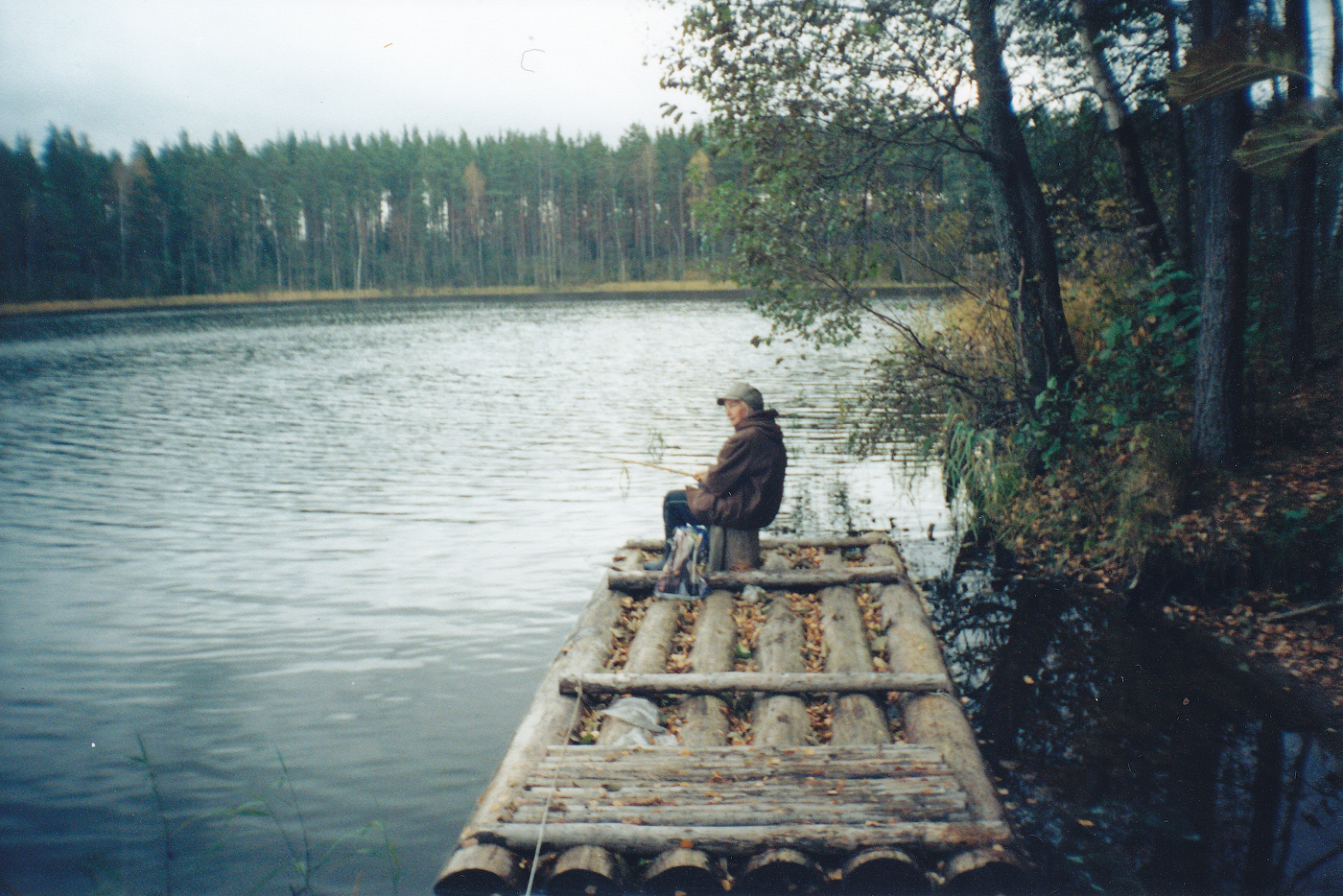 """№20 Нина Маслова. """"Хорошо на рыбалке""""."""