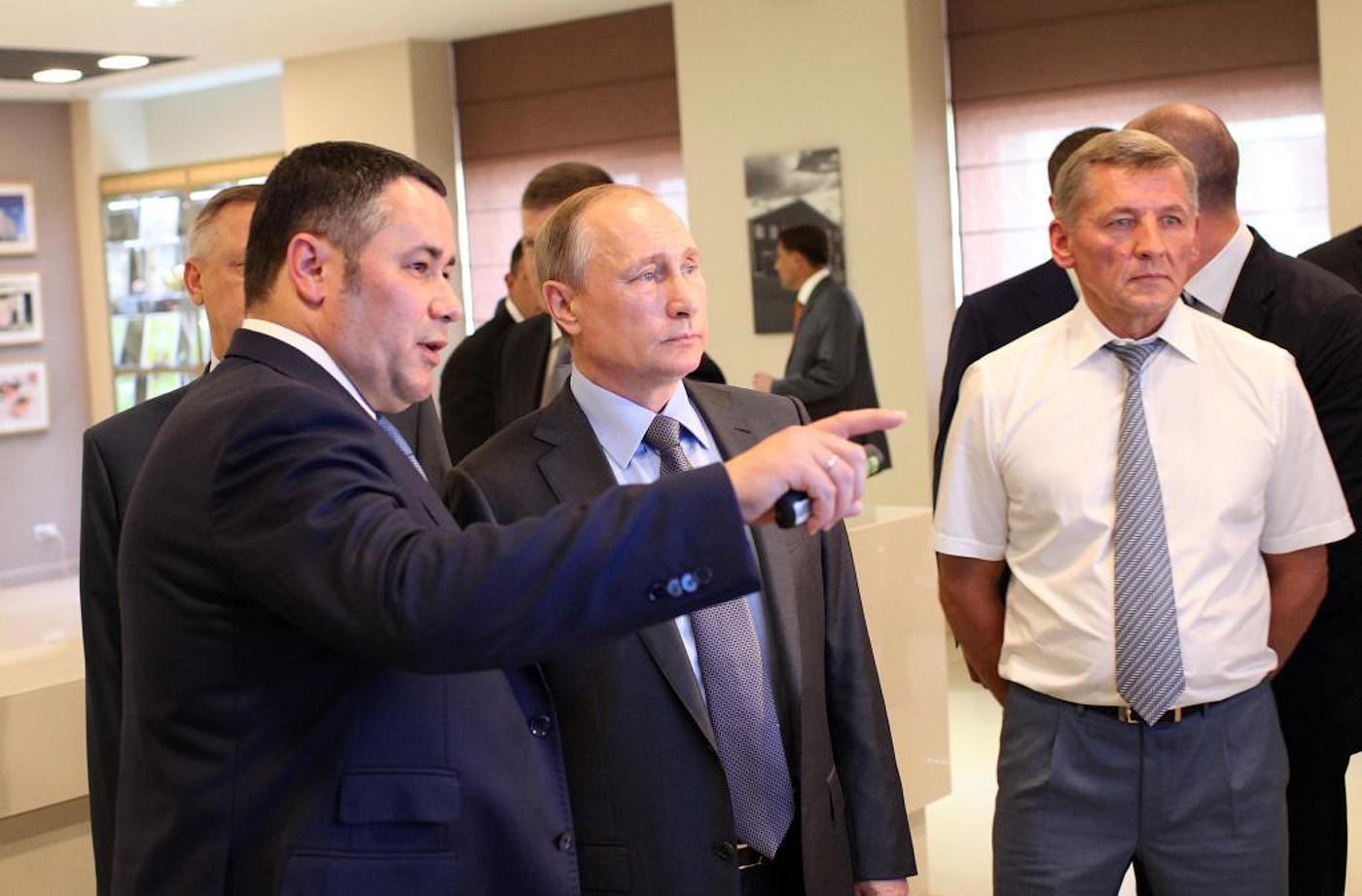 Владимир Путин чаще всего встречался с Игорем Руденей