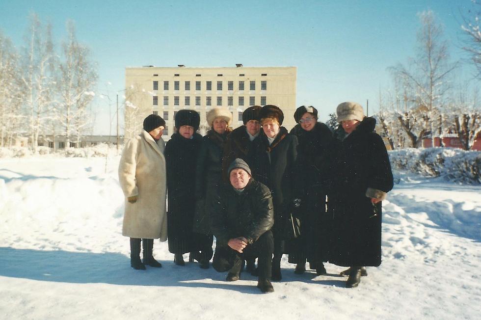 Выпускники 1965 года.
