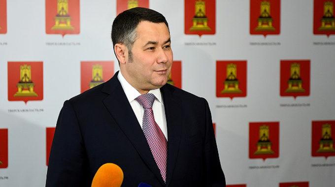 Игорь Руденя занял 3-е место в медиарейтинге губернаторов ЦФО за февраль