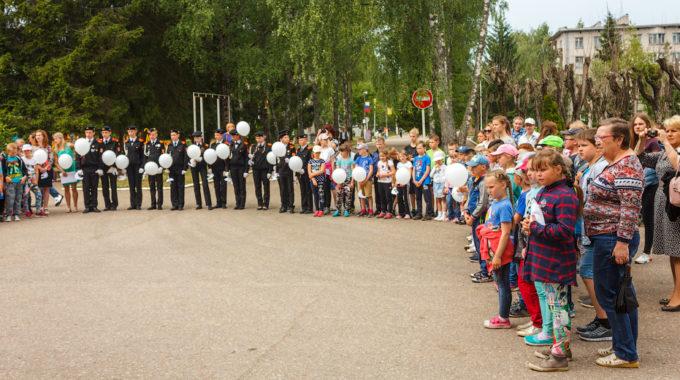 Озерный вместе со всей Россией почтил память жертв Великой Отечественной войны