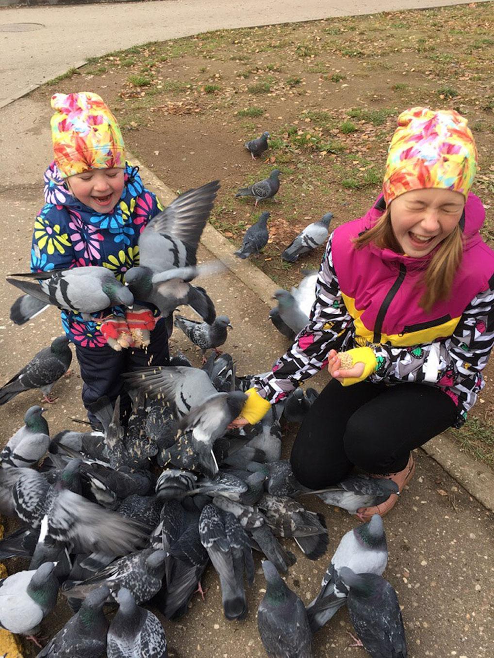 №5 Аделина и Кристина - с любовью к птицам! Автор: Алена Косулина