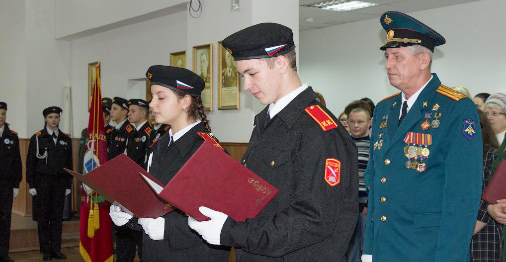 Мундир и эполеты: теперь они — кадеты!