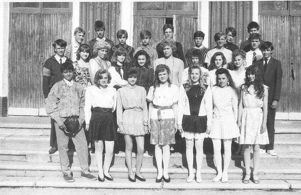"1993 год, 9 ""А"" класс школы №1."