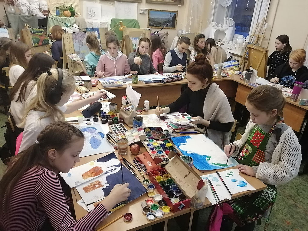 Всероссийский изобразительный диктант.