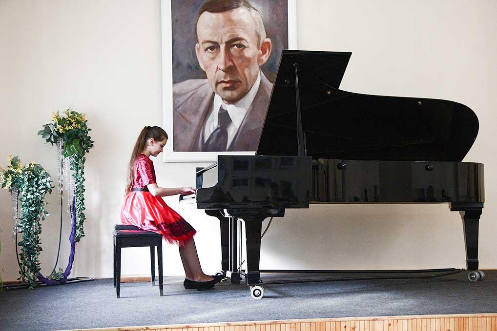 Пианистка Полина Тутулина, лауреат II степени.