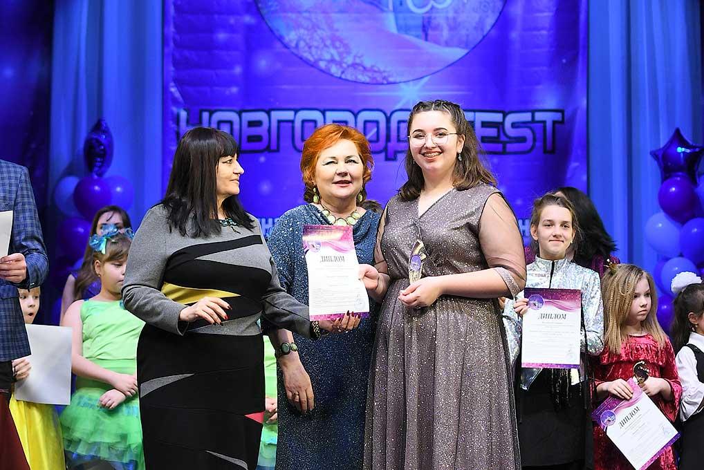 Победительница конкурса Александра Таразевич.