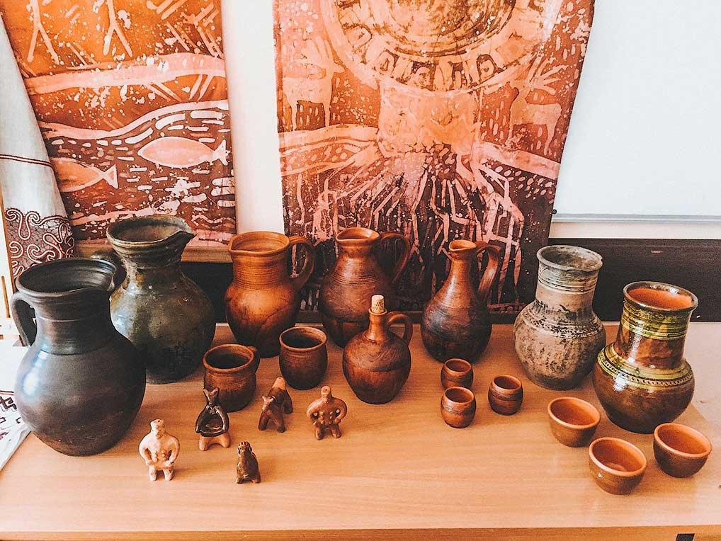 Реконструкция шишкеевской керамики.