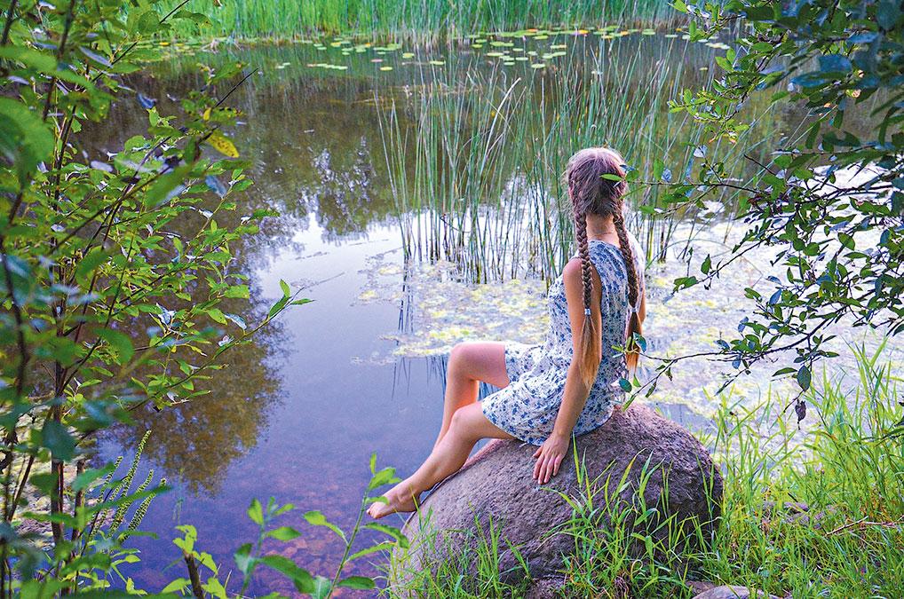 Ирина Смирнова: - Россия - это мой дом, моя малая Родина, место, где я черпаю вдохновение и силы.