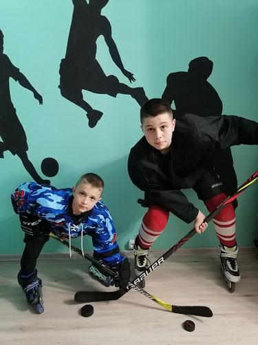 Константин и Максим Лебедевы.