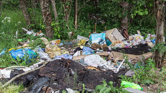 Об административной ответственности за оставление твердых коммунальных отходов в не установленных местах