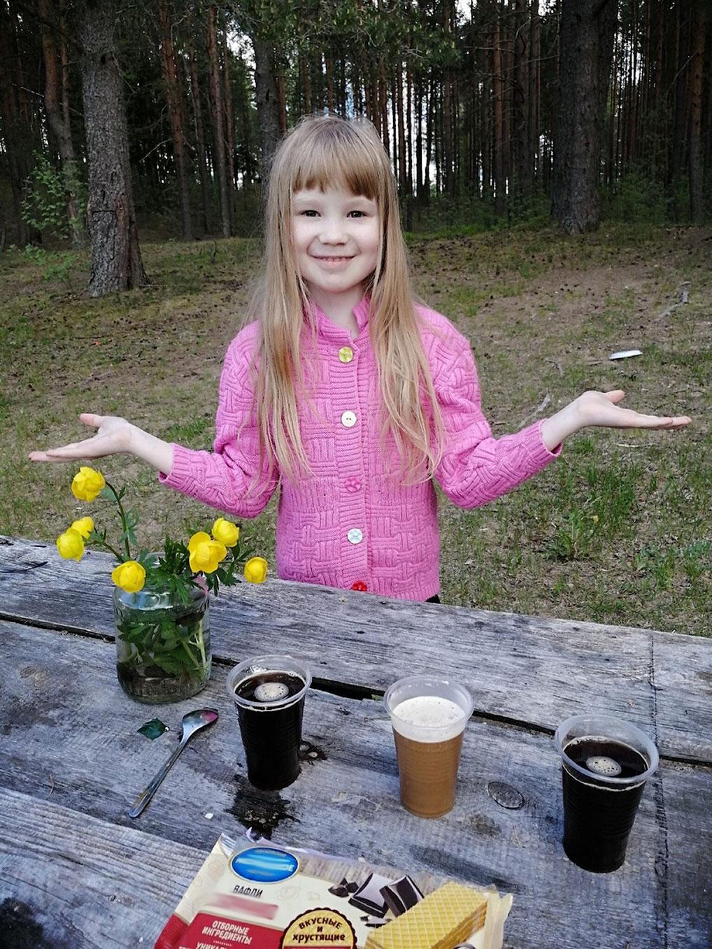 "Елизавета Рыжкова. ""Прошу к столу! Вечерние летние посиделки."""