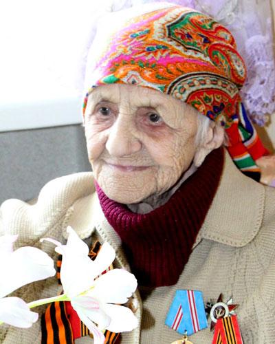 Ветеран Великой Отечественной войны Мария Николаевна Макарова.