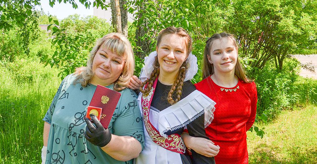 15 июня Ирина Смирнова получила аттестат особого образца.