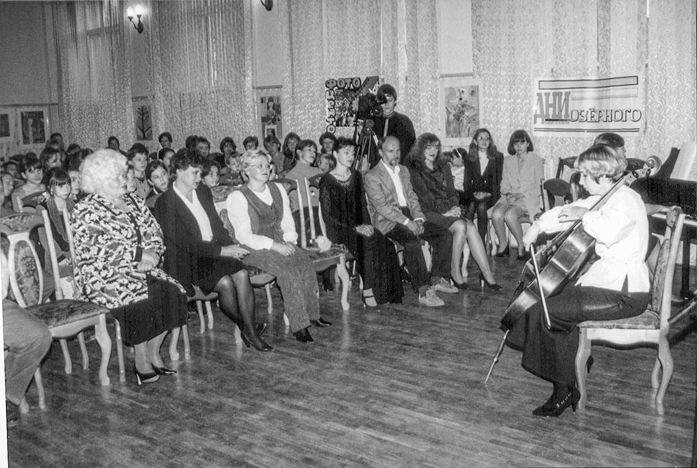 Открытие художественного отделения Детской школы искусств, 2 октября 2000 год.