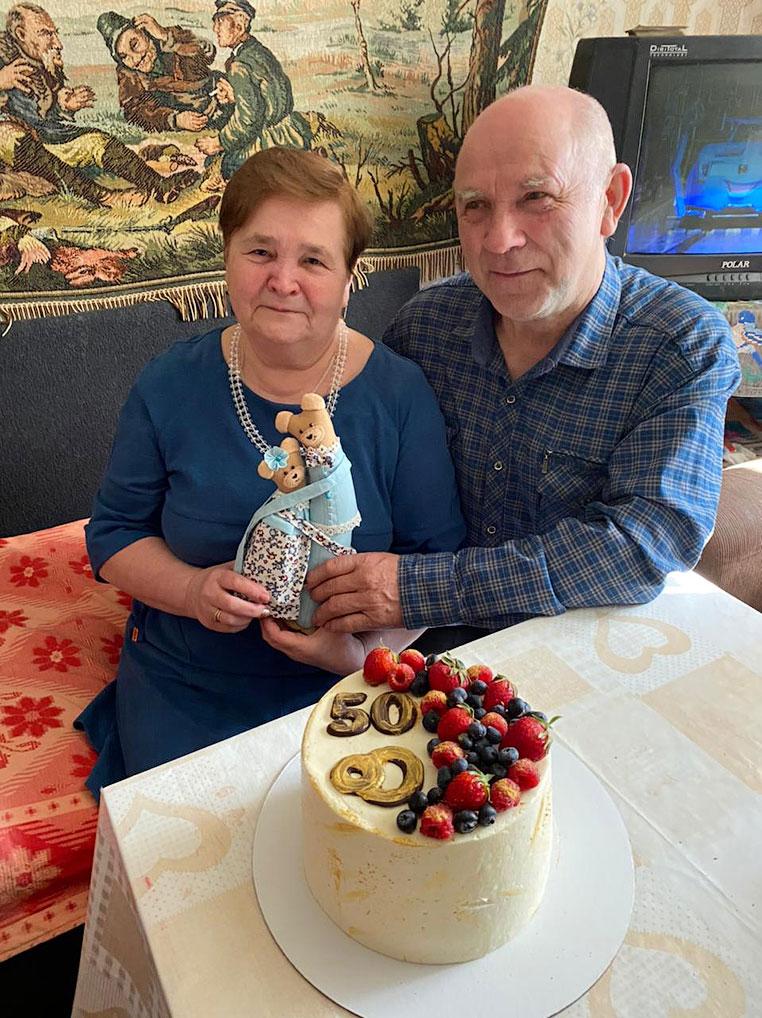 Виталий Иванович и Надежда Павловна Крыловы: - Когда знаешь, что за спиной надежный тыл, все по плечу!