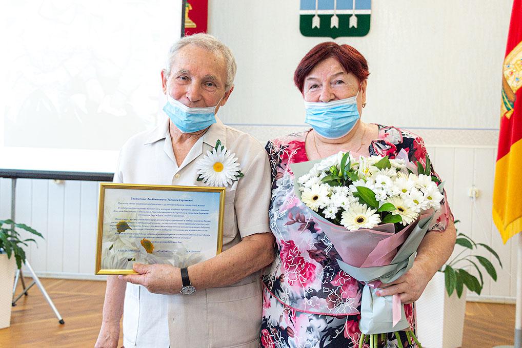Владимир Петрович и Татьяна Сергеевна Якушины: - Главное - это уважение! Без него не построить долгих и счастливых отношений.