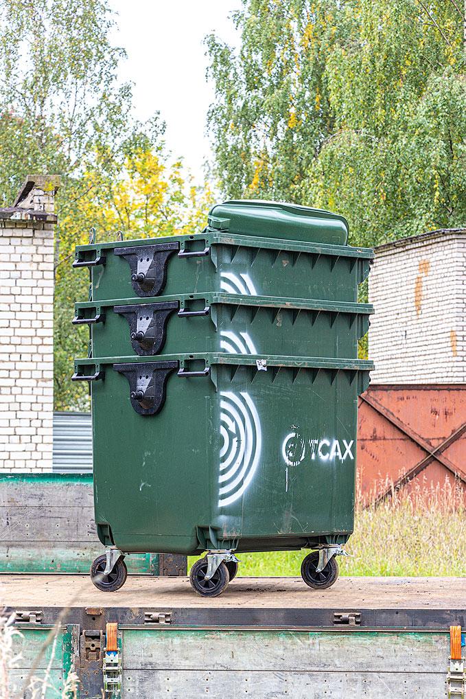 Озерный переходит на новую систему сбора мусора
